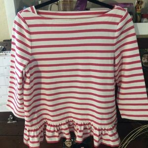 Katespade pink and white knit in perfect condition